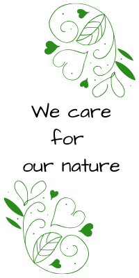 We care for our nature